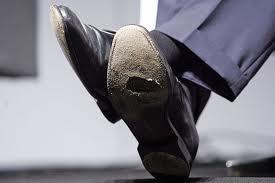 Sapato furado